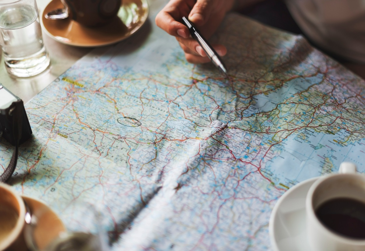 Get a map!